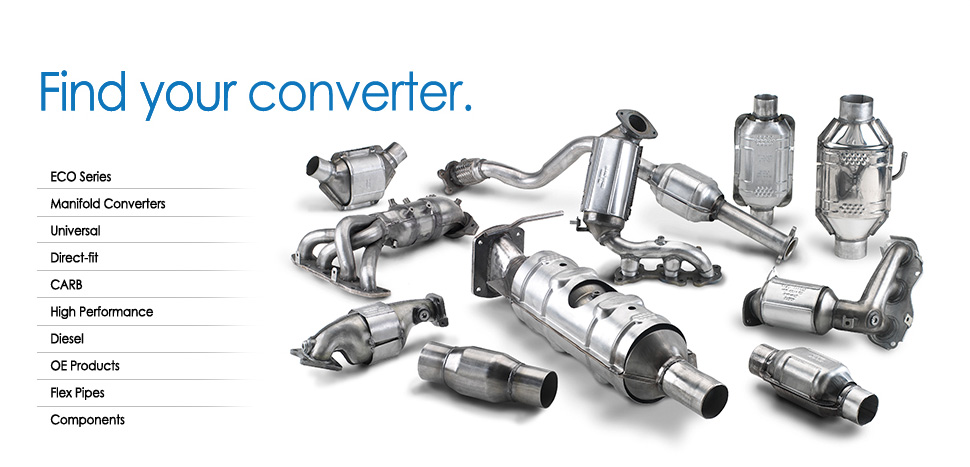 Shop for your Catalytic Converter